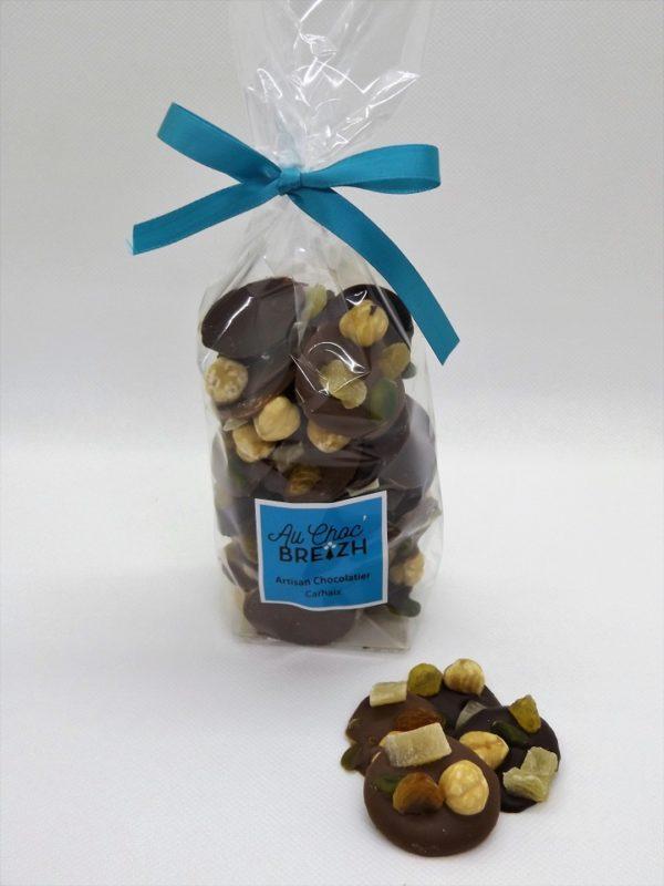 Mendiants chocolats à Carhaix